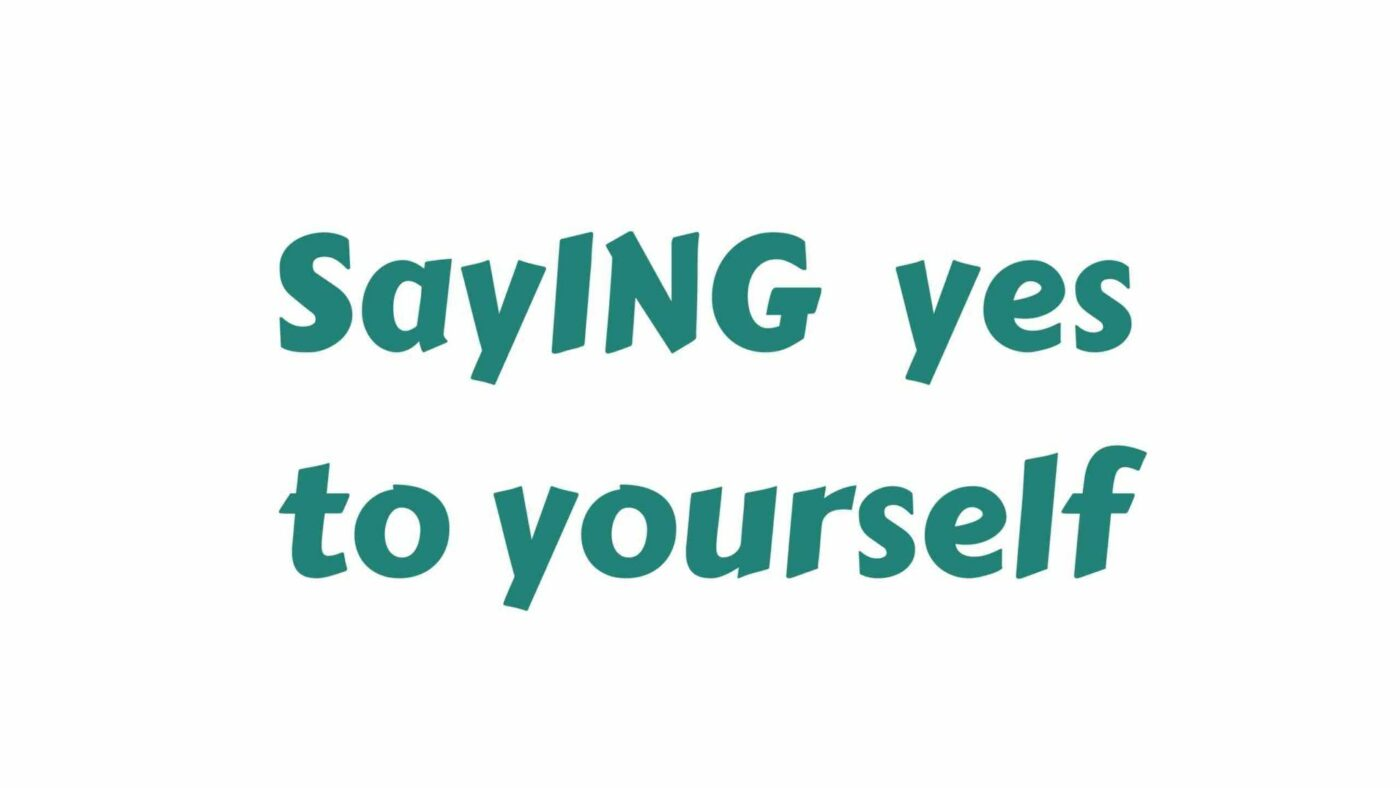 Saying Yes to Yourself – with Ruthie and RA