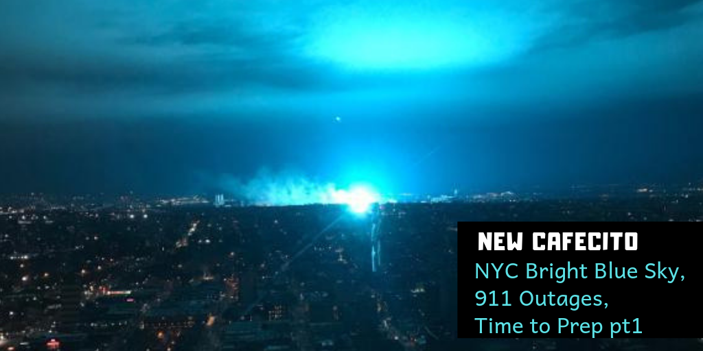 RA chats NYC Bright Blue Sky, 911 Outages, Time to Prep pt1